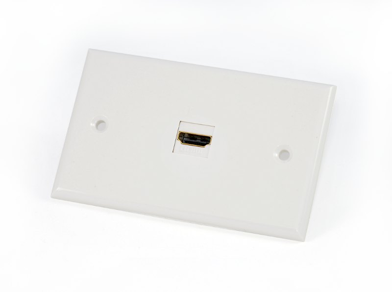 custom av wall plate 1 hdmi this wall plate uses the keystone system