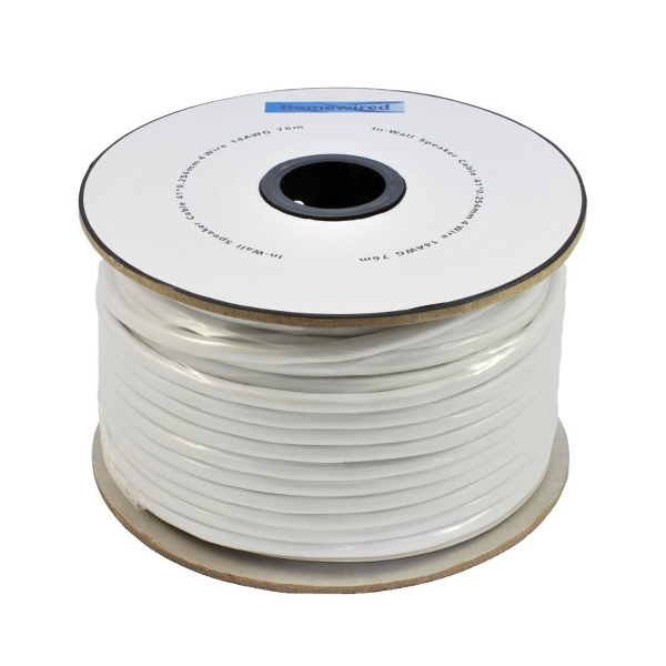 Speaker Cable In-Wall 4 wire 14 AWG 15m-76m